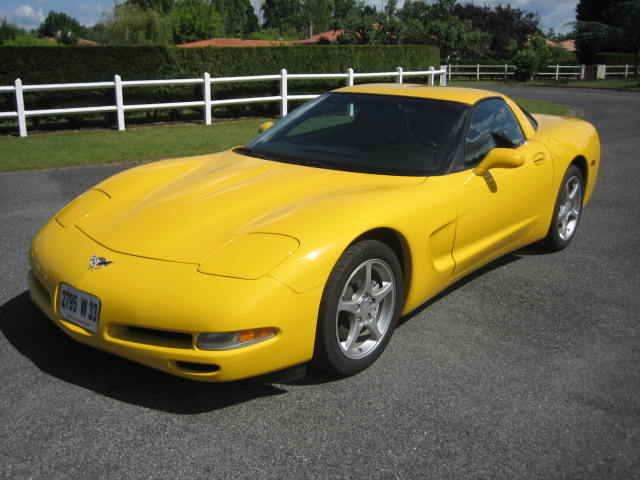 CHEVROLET CORVETTE C5 TARGA 50TH