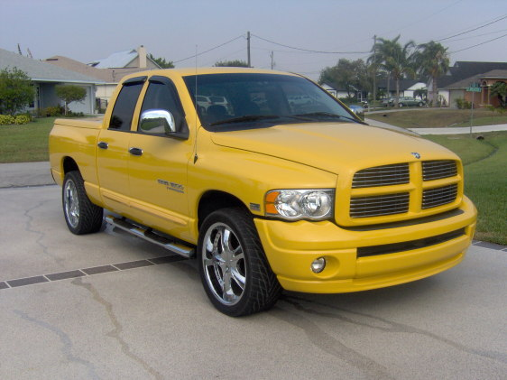DODGE PICKUP RAM 1500 THUNDER ROAD