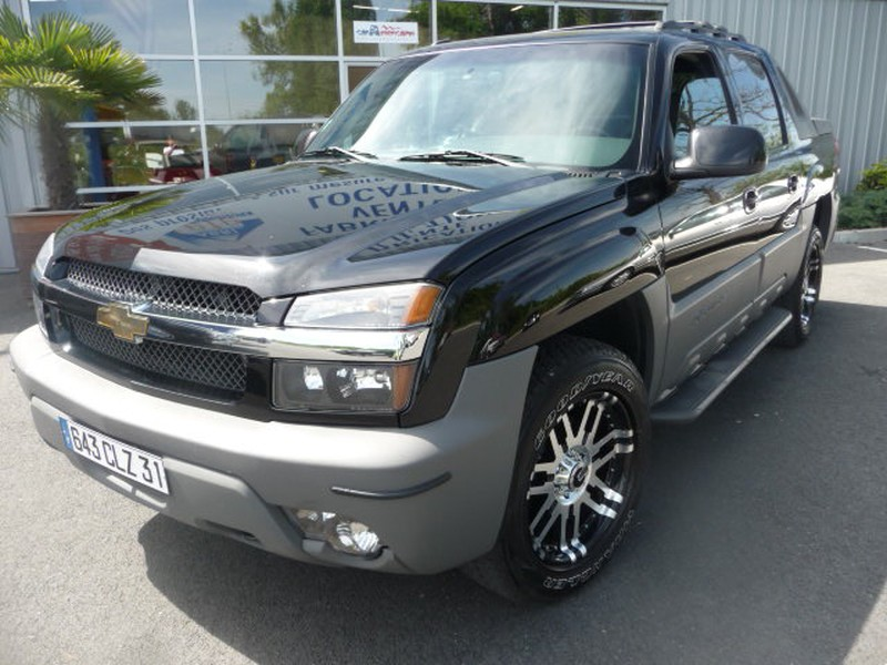 CHEVROLET PICKUP 1500 AVALANCHE Z 71