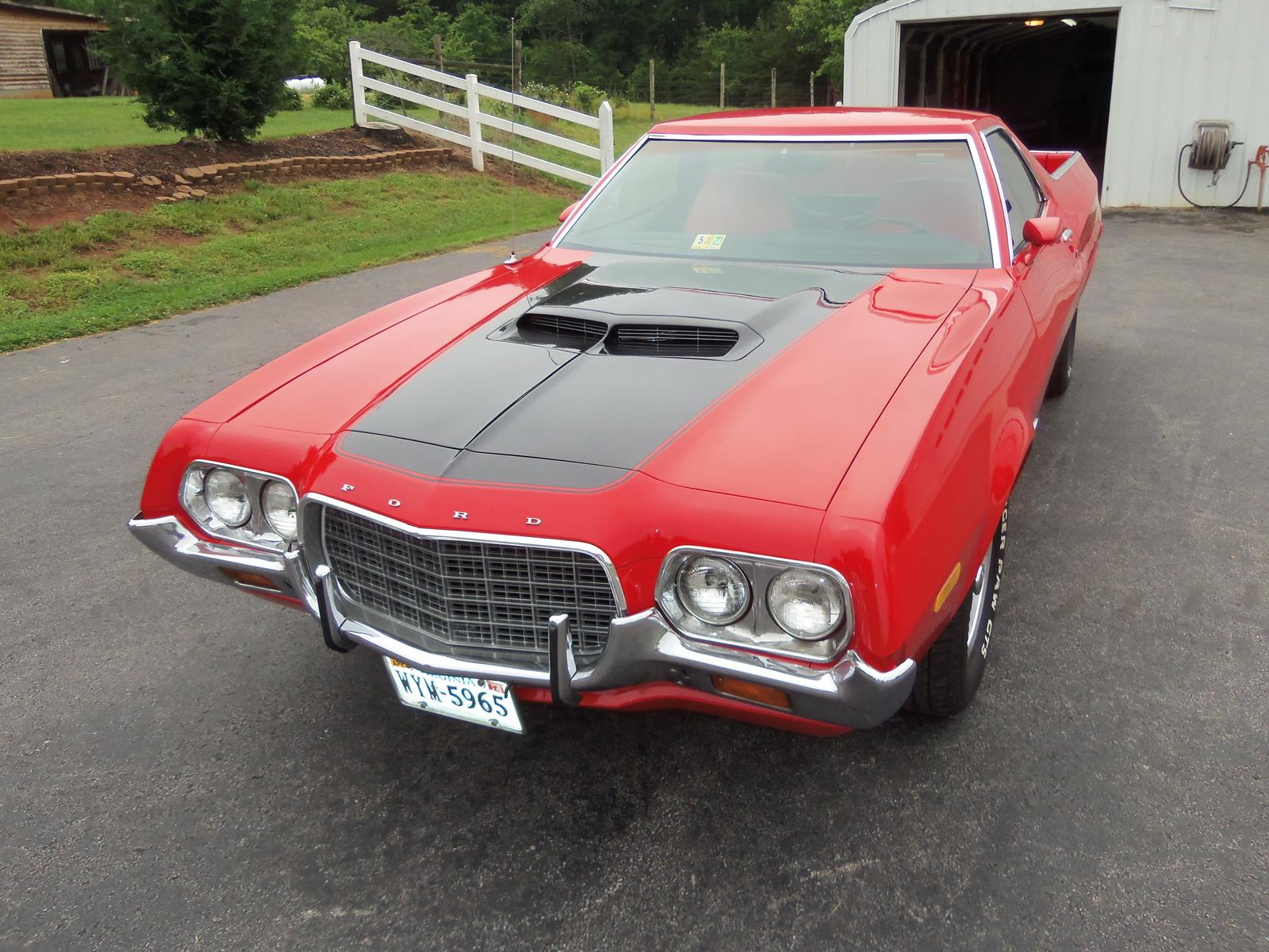 FORD FORD RANCHERO GT