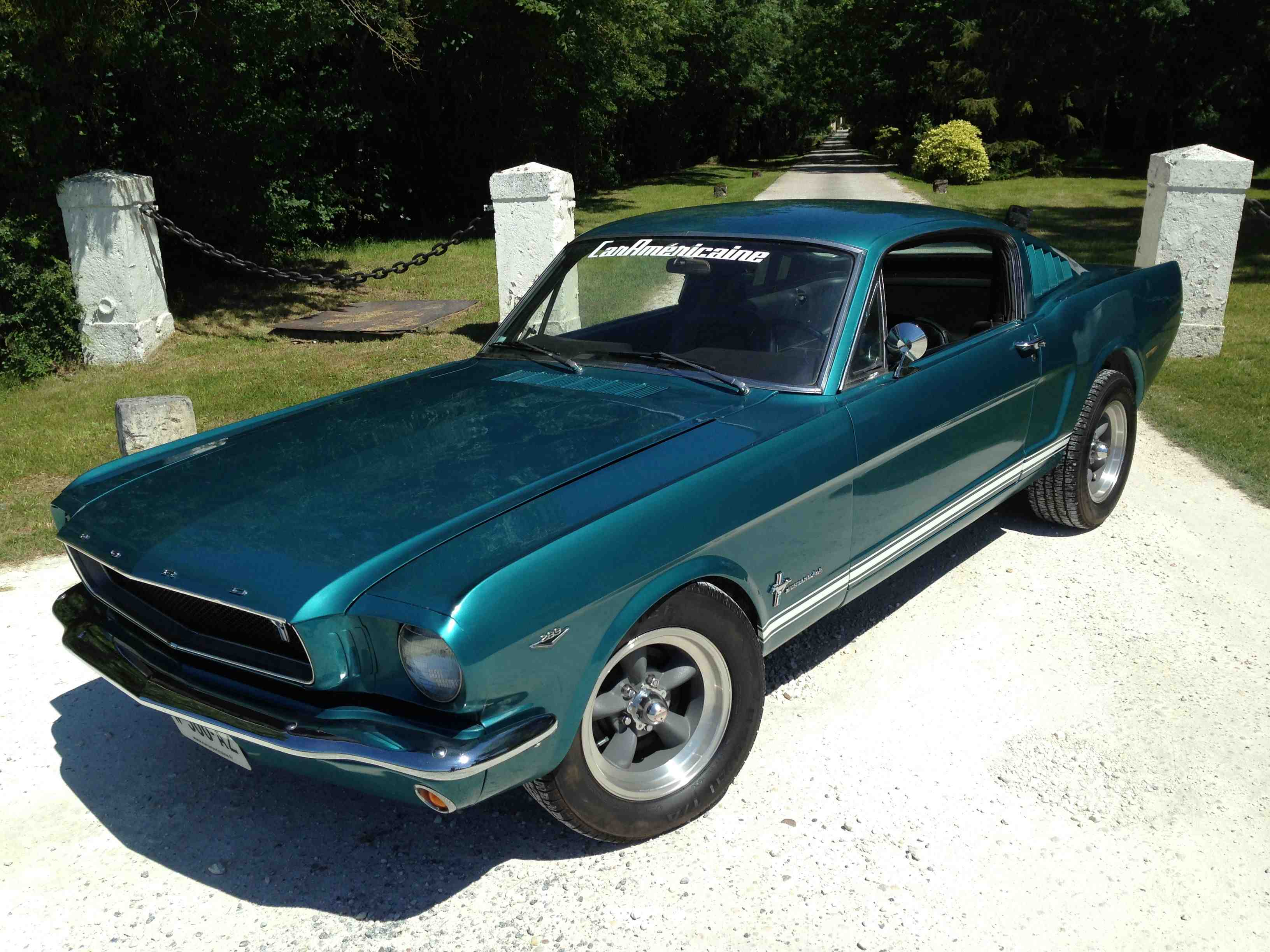 FORD MUSTANG FASTBACK 66