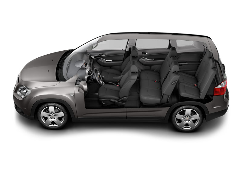 route occasion chevrolet orlando 7 places. Black Bedroom Furniture Sets. Home Design Ideas